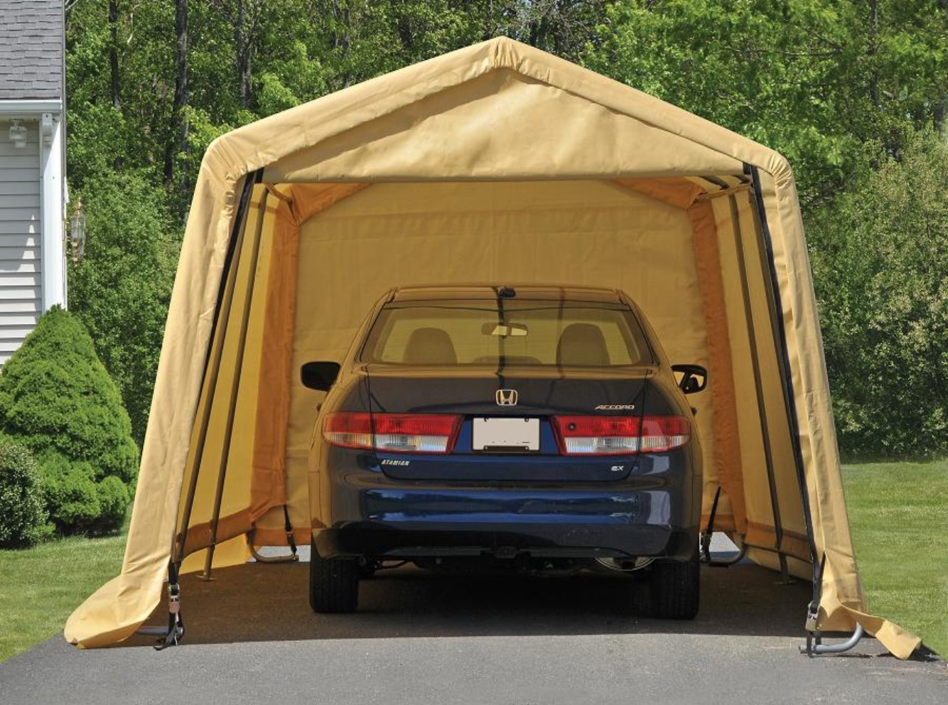 SS1010 car parking shed & Sheltersportable garagestentshedsoutdoor storagelarge tents ...