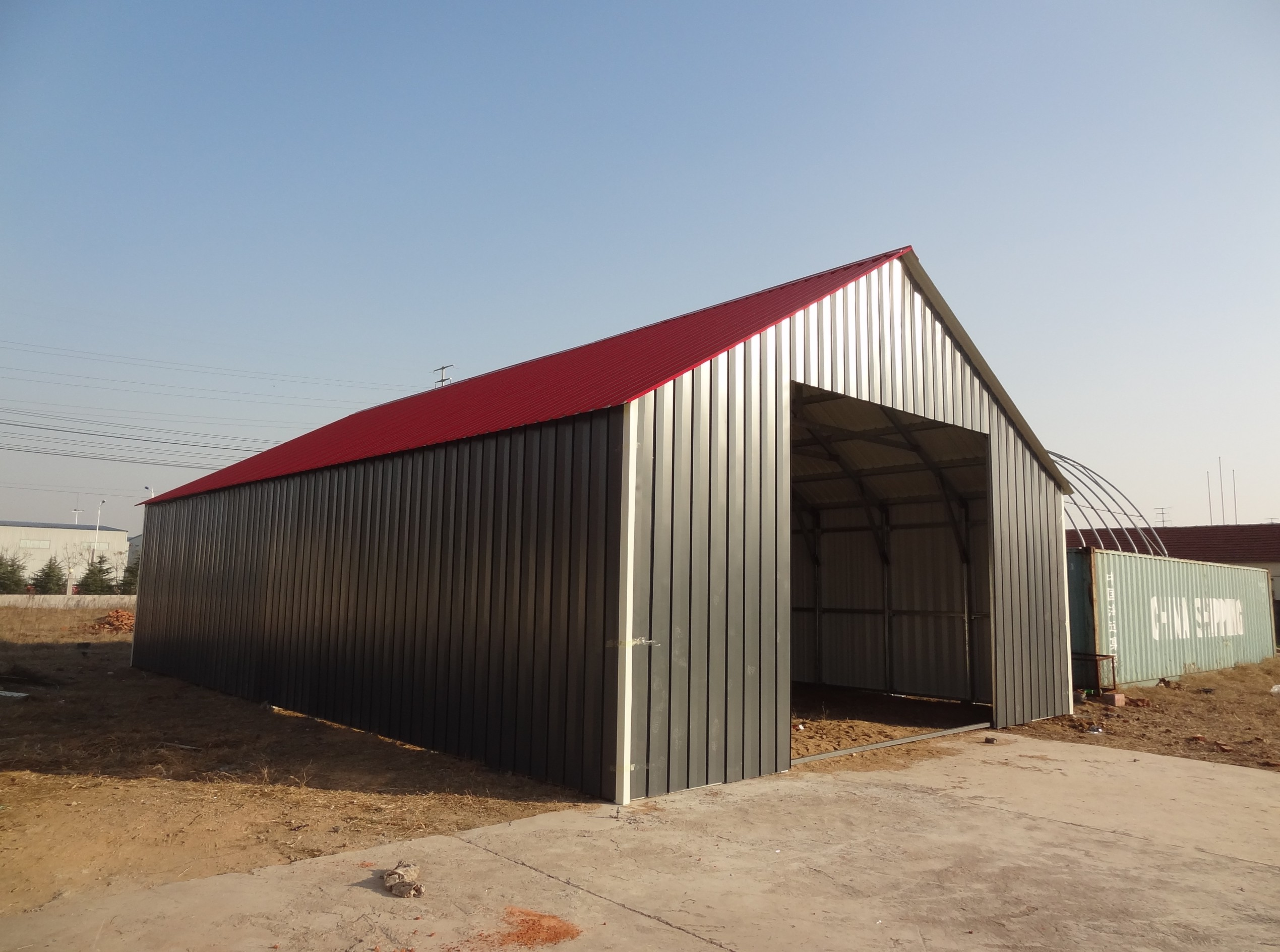 Tent Storage Buildings : Shelters portable garages tent sheds outdoor storage large